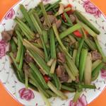 X_jun鸡肾炒芹菜的做法