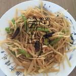 、May Be(来自腾讯.)炝土豆丝的做法