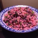 zhoujay苋菜炒饭的做法