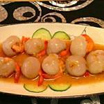 麻小胖荔枝虾球的做法