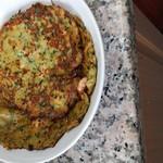 没时间做饭的家庭主妇玉米土豆丝小煎饼的做法