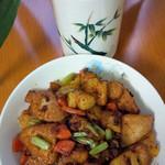 快乐素食菠萝咕噜豆腐的做法