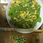 weimei莴笋炒蛋的做法