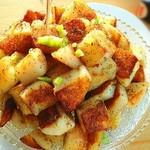 杰米4769956香辣锅巴土豆的做法