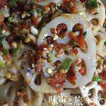 (り夏半晴天(来自腾讯.)炝拌藕片的做法