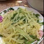 鲜东航醋溜土豆丝的做法