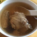 豆豆汪萝卜煲猪骨汤的做法