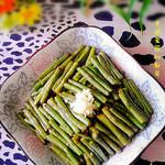 度娘菜园和厨房干煸豆角的做法