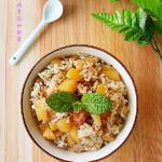 度娘菜园和厨房辣白菜炒饭的做法