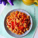 度娘菜园和厨房茶叶焗虾的做法