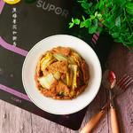 度娘菜园和厨房辣白菜炒五花肉的做法