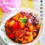 度娘菜园和厨房土豆烧牛肉的做法