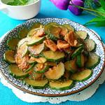 度娘菜园和厨房凉拌黄瓜的做法