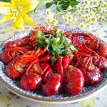 度娘菜园和厨房香辣小龙虾的做法