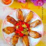 度娘菜园和厨房蜜汁烤翅中的做法