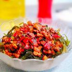 度娘菜园和厨房凉拌海带丝的做法