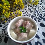 度娘菜园和厨房山药排骨汤的做法