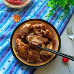 度娘菜园和厨房红烧排骨的做法