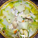 七月不减肥花蛤冬瓜汤的做法