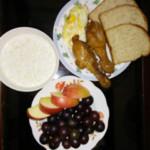 cdf(来自腾讯..)苹果汁早餐燕麦粥的做法