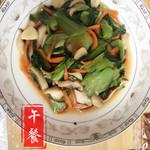 杰米8989914485香菇青菜的做法