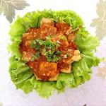 彭澎(来自微信.)酱汁脆香豆腐的做法