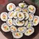 迷恋佳紫菜饭卷的做法