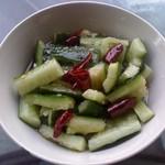 甜盐蜜语炝拌黄瓜的做法