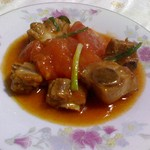 甜盐蜜语西红柿烧排骨的做法