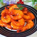甜盐蜜语茄汁大虾的做法