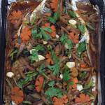 柳儿(来自微信.....)豉汁烤鱼的做法