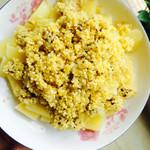 尹诺诺小米蒸牛肉的做法