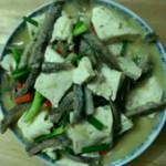 人生……泥鳅炖豆腐的做法