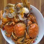 甜-甜清蒸大闸蟹的做法