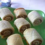 看透(来自腾讯.....)黄桃蛋糕卷的做法
