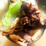 cherry星钻墨鱼鲜虾炖排骨的做法