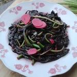 0西葫芦0清炒苋菜的做法