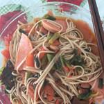 白小妮的厨娘生活荠菜挂面的做法