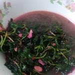Angle微光蒜蓉苋菜的做法