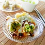 土豆絲卷餅茴香餡餃子的做法