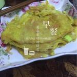 心缘1676香煎土豆丝鸡蛋饼的做法