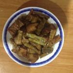 Wygacg笋干烧肉的做法