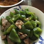 葵葵964青椒炒肉片的做法