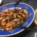 Immerkop韭菜炒河虾的做法