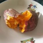 春风4813微波炉烤红薯的做法