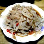 左晓楠炝拌藕片的做法