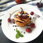 老方小雨草莓松饼#早餐#的做法