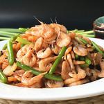 老方小雨韭黄炒南极鳞虾的做法