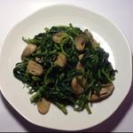 xiaoqie(来自腾讯.)苋菜鲜蘑的做法