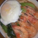 肖晓v鲜虾面的做法